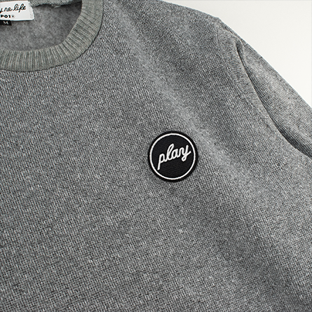 PLAY FLEECE CREW 19