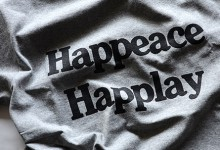 HAPPEACE HAPPLAY TEE 2015(P01)