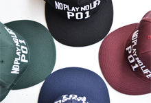 PLAY CAP STICKEREI 5TH COLOR(P01)