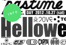 PLAYDESIGN presents『Helloween pastime#11 join THE play』